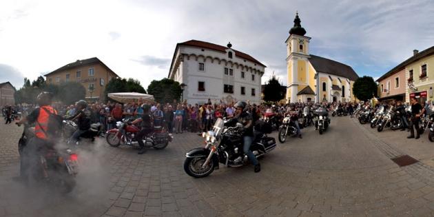 Harley Davidson Charity Tour