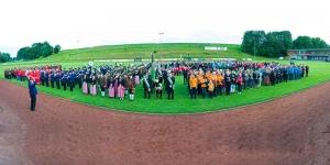 Vorchdorfer Vereine beim Bezirksmusikfest